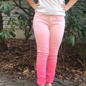 Pink Ombré Pants